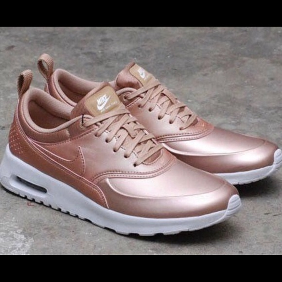 Nike Air Max Thea Rose Gold Womens Size